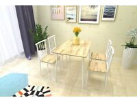 Brand new dining table and 4 chairs