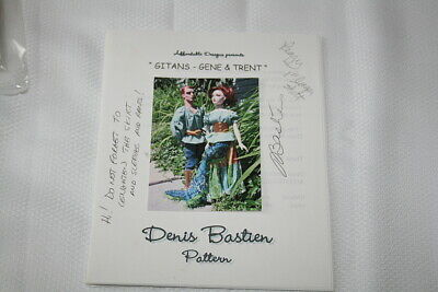 AFFORDABLE DESIGNS FASHION DOLL PATTERN GITANS GENE & TRENT GYPSY PATTERN