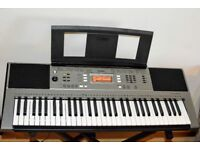 Yamaha PSR-E353 61 key touch sensitive keyboard - with stand and case