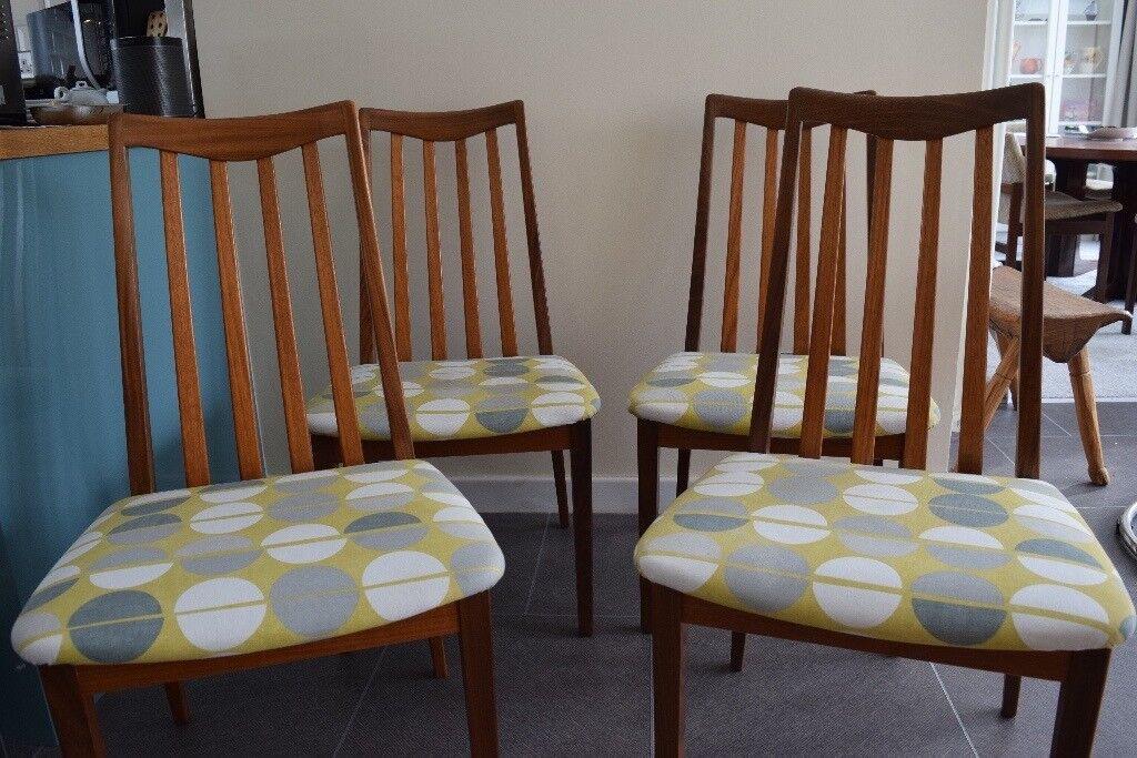 Enjoyable Four G Plan Dining Chairs 60S In Gorebridge Midlothian Gumtree Lamtechconsult Wood Chair Design Ideas Lamtechconsultcom