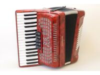 New Stephanelli 72 Bass Accordion - 2020 Elite Model