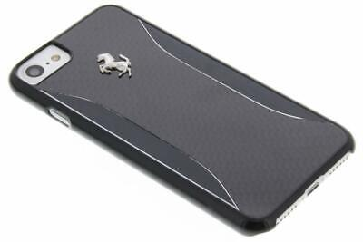 iPhone 7 Ferrari GT EXPERIENCE-Hard Case- Carbon Fiber -Brushed Aluminium-Black