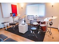 Professional drum school with practice room in Gloucester (Yamaha Music Point) - FIRST LESSON FREE!