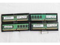 PC RAM 4 x 1GB DDR2 5300