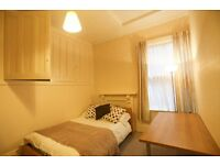 Double room with HUGE amounts of storage. Friendly house share. Bills inc. No fees to pay.