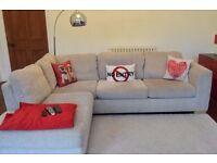 John Lewis Felix LHF Corner Chaise Sofa rrp £1450.00 Collect PR8