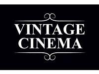 Usher /Usherette & Bar Staff Required for The Chilterns Vintage Cinema