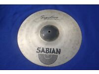 Sabian Signature Virgil Donati 17 Inch Saturation Crash Cymbal for drum kit