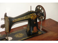 Antique Singer Treadle Sewing Machine Manufactured 1910, Clydebank