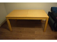 dining room table - solid wood
