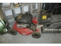 Mountford Petrol Lawnmowers