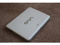 Sony Vaio Business Laptop, 4GB Ram, 320GB Hard Drive, Windows 10 + Microsoft Office. Free Delivery