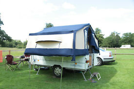 Conway Countryman folding camper with full awning and side skirts -2003