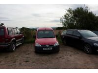 Red Vauxhall Combo Van for sale 1.3 CDTI - Spare or Repairs, 11 month MOT, Starts and drives