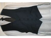 New Years Sale Mens Blue Waistcoats by M&S