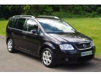 2004 VW Touran Sport FSi.. 6 Speed.. 7 seats.. FSH.. Bargain..
