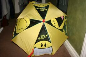 Childs Mr Happy Umbrella