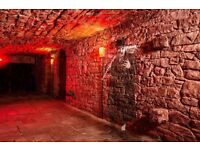 Guides Needed to lead Underground Ghost & History Tours