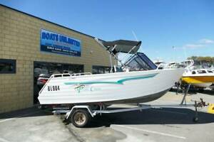 TRAILCRAFT 475 FREESTYLE 4 STROKE 60HP EFI.... GREAT ALL ROUNDER