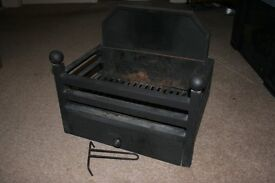 High quality fire basket designed for use with gas, electric or solid fuel fires