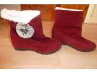 women's ankle boots size 4 brand new