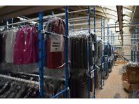 Garment Hanging fixtures/ Boxed storage