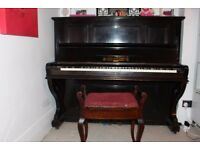 Ferd Manthey Upright Piano German (Serial No. 8137)