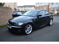 BMW 120i M SPORT COUPE WITH LOW MILEAGE