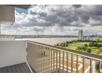 LUXURY FURNISHED 1 BEDROOM APARTMENT WITH STUNNING RIVER VIEWS - WATERSIDE HEIGHTS ROYAL DOCKS E16