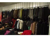 Used Ladies and Men's Winter Wholesale Coats x150 Joblot Sale - UNDER £1 a coat!