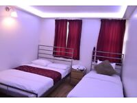 TRIPLE DOUBLE Room Available for 3 persons only, En suite Rooms ALL BILLS INC WITH FREE WIFI