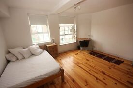 Spacious studio apartment located on wilmot street moments from bethnal green station E2**