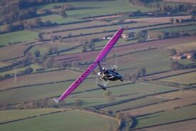 Microlight Trial flight Voucher