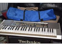 HOHNER KEYBOARD/CARRY CASE HOHNER AMP WIRES CAN SEE WORKING/JAPAN