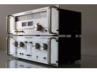 MARANTZ 1050 AMPLIFIER and MARANTZ 2050L TUNER / rack mounted
