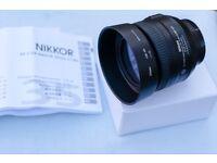 Nikon 35mm f1.8g DX lens