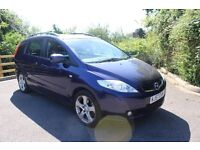 FROM £25 PER WEEK MAZDA 5 2.0 DIESEL SPORT 7 SEATER MANUAL BLUE GREAT FAMILY CAR WELL MAINTAINED