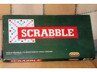 Spear's Games Vintage Scrabble, All Complete and Good Condition, Made in England, Histon