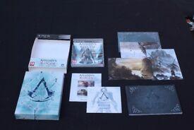 Assassins Creed Rogue collectors edition PS3 RARE
