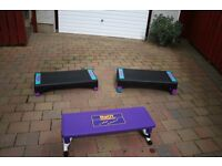 10 Fitness / Aerobic Steppers in excellent condition