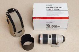 Canon 70-200mm f/2.8 L IS II USM Lens + Case + Box (mark II mk2 mkII)