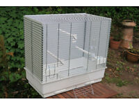 Bird cage (large budgie cage, mynah cage or parakeet cage)