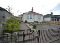 Detached two double bedroom property in Blackhall area of Edinburgh.