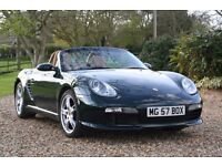 Stunning Porsche Boxter. 57 reg. Hardtop included. 1 owner. FPSH. 24 month warranty!