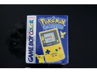 Brand new factory sealed Pokemon limited edition Nintendo Gameboy Colour