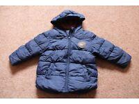 Next Boy's Winter Coat – Size 2 – 3 Years