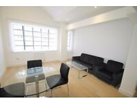 1 bed furnished loft style flat, converted warehouse, great spec, on canal, concierge, walk to DLR