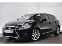 LEXUS CT 1.8 200H ADVANCE 5d AUTO 134 BHP (black) 2014
