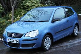 *Beautiful*2008 VW Polo 1.2, 3Dr, 53,000Miles, FSH, Met. Blue,*12 Months Warranty*