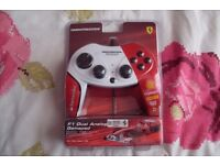 Thrustmaster Ferrari F1 Dual Analog Gamepad PC Game controller. 150th Official Ferrai LTD Edition.